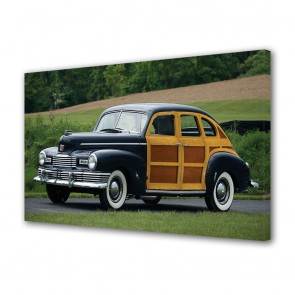 Tablou Canvas 1947 Nash Ambassador Six Super Suburban Woodie Sedan