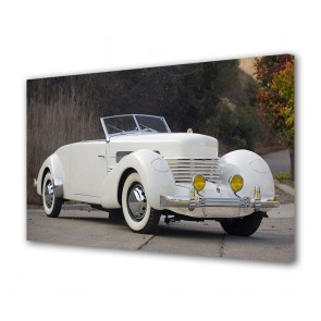 Tablou Canvas Cord 812 SC Convertible Coupe 1937