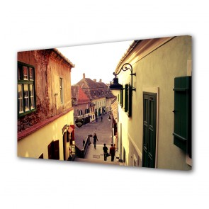 Tablou Canvas In Sighisoara Romania